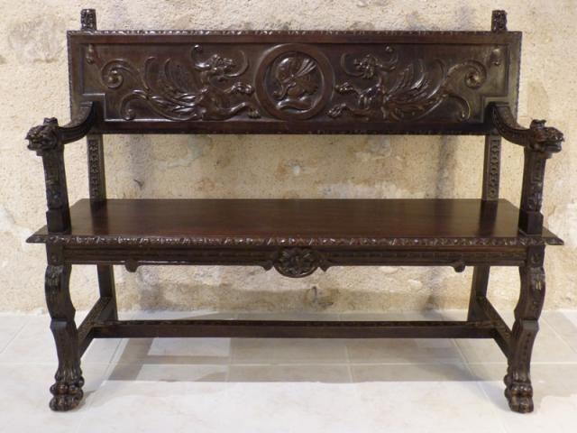 toutes nos antiquit s vendre objets d 39 art mobilier meuble gothique renaissance louis xiii. Black Bedroom Furniture Sets. Home Design Ideas