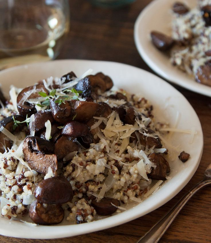 ... Pan Roasted Mushrooms. Simple enough for dinner tonight! | Mushroom