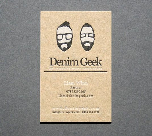 105 best business card printing in london images on pinterest 50 inspiring examples of letterpress business cards reheart Images