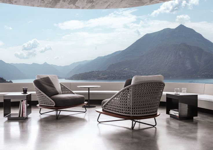 127 best outdoor furniture images on pinterest backyard for Minotti outlet italy