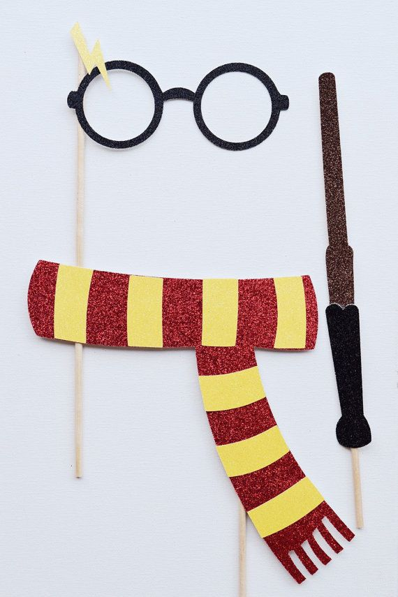 Harry Potter Bachelorette Party Photo Booth by LetsGetDecorative