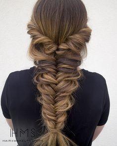 ¡Preciosa trenza! www.latinomeetup.com - La comunidad líder en contactos latinos. #peinados #hairstyles #beauty #pelolargo #longhair