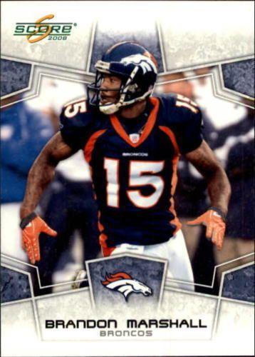Brandon Marshall 2008 Score #91 Denver Broncos UCF Knights