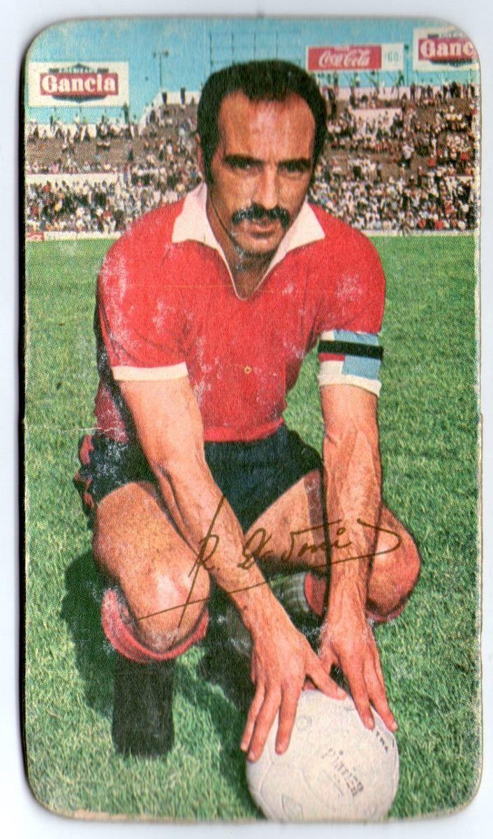 Figurita Tarjeton Futbol 1971 Ricardo Pavoni #81 Independiente de Avellaneda
