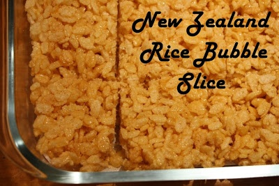 Learning Titus 2: New Zealand Rice Bubble Slice {Guest Post}