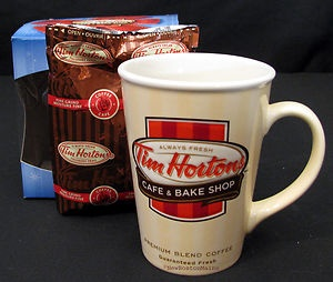 Tim Horton's US Cafe and Bake Shop Mug ~ 2012. I have this mug.