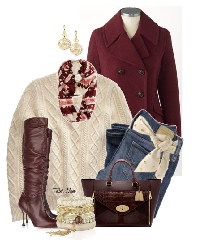 Bundle Up -#2 by stylishgrace on Polyvore featuring polyvore, fashion, style, Madewell, Brian Atwood, Mulberry, LK Designs, American Eagle Outfitters, Coldwater Creek and clothing