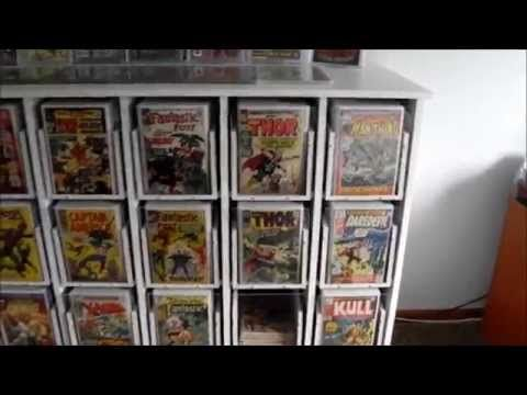 Comic Book Storage Cabinets Youtube Comics Pinterest