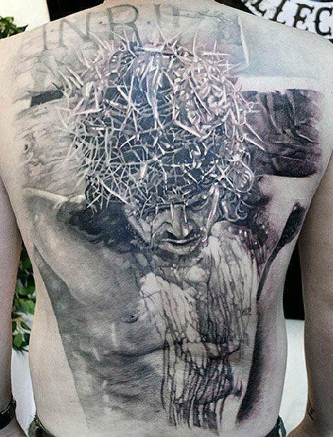 acfcd6990 50 Badass Cross Tattoos For Men - Manly Design Ideas | Tatts | Jesus ...