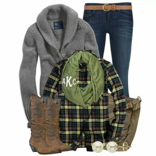 Falling for flannel