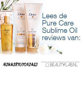 Dove Pure Care Sublime Oil Voor Droog en Dof Haar