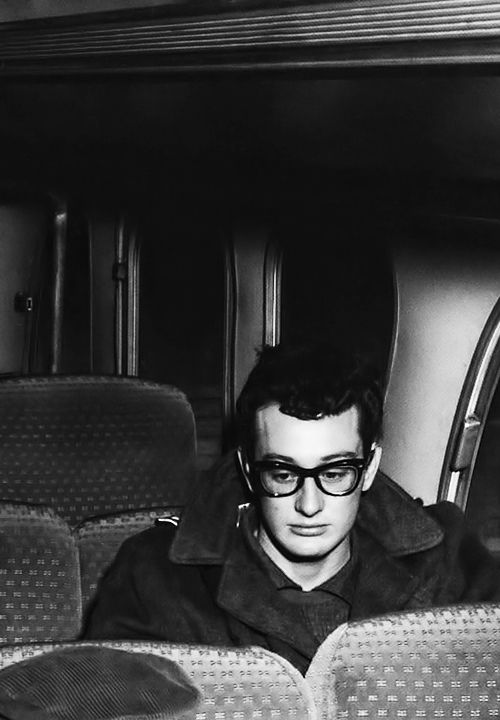 Buddy Holly c. 1958. I hate buses too Buddy but light planes with inexperienced pilots even more.