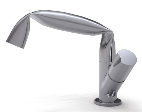 fun design: Bathroom Chrome Faucet Fold by Ceramica Flaminia