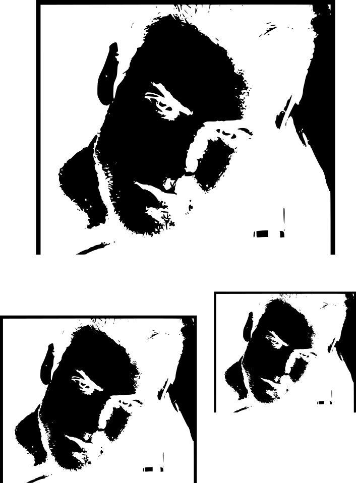 visage homme