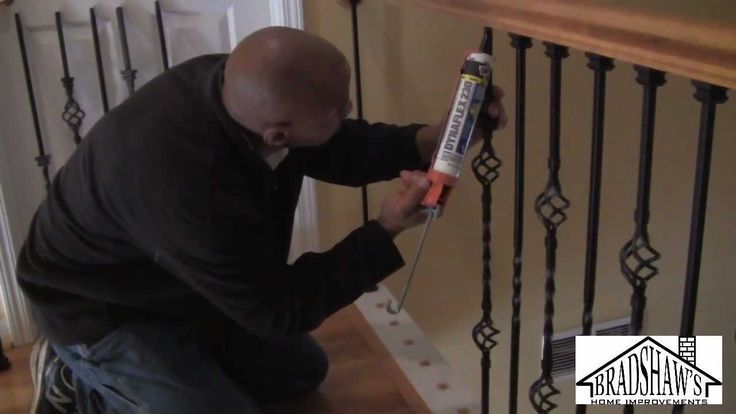 how to video for replacing stair balusters