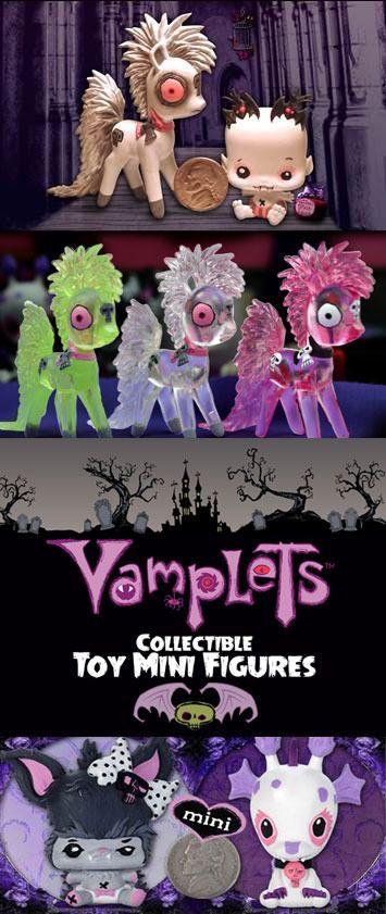 Vamplets announces Kickstarter for Baby Monster Mini Figures!!!