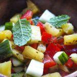 Ananas salsa - Vertruffelijk