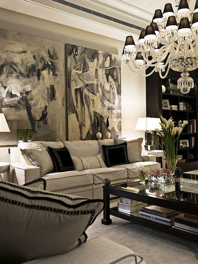 Glam Living Room! 203kRehabNow.com for 203k Renovation Loans, FHA loans & refinancing nationwide.
