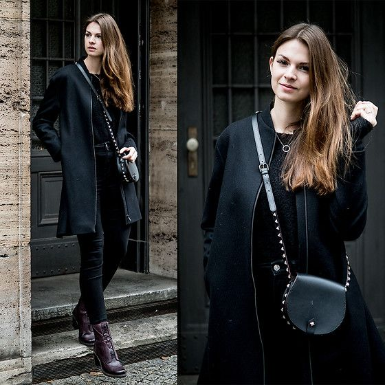 Get this look: http://lb.nu/look/8538059  More looks by Jacky: http://lb.nu/whaelse  Items in this look:  Cos Coat, Rebecca Minkoff Bag   #casual #minimal #street #boots #neosens #noisymay #rebeccaminkoff #crossbody #allblack