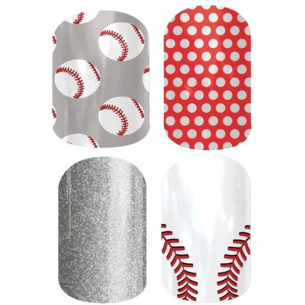 Jamberry Baseball Set by jennifer-payne-miller on Polyvore featuring beauty