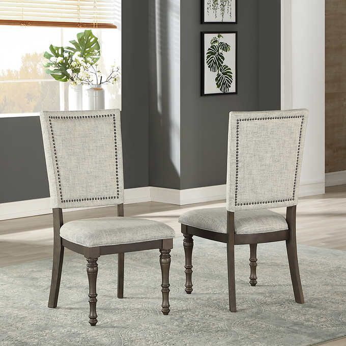 East Park 2 Pack Dining Chair In 2020 Dining Chairs Chair