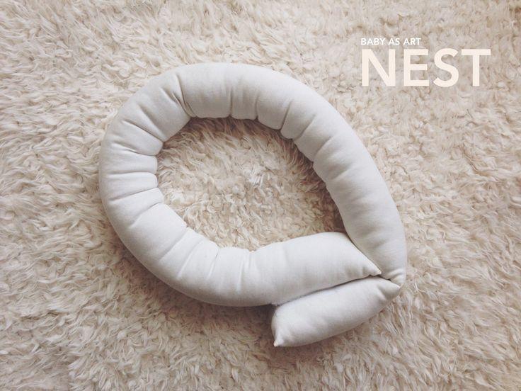 Baby as art nest