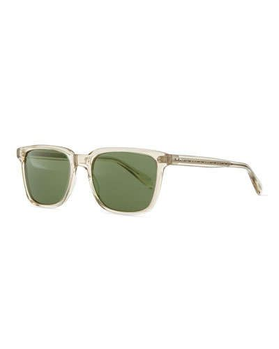 Oliver Peoples Men's NDG Sunglasses, Buff