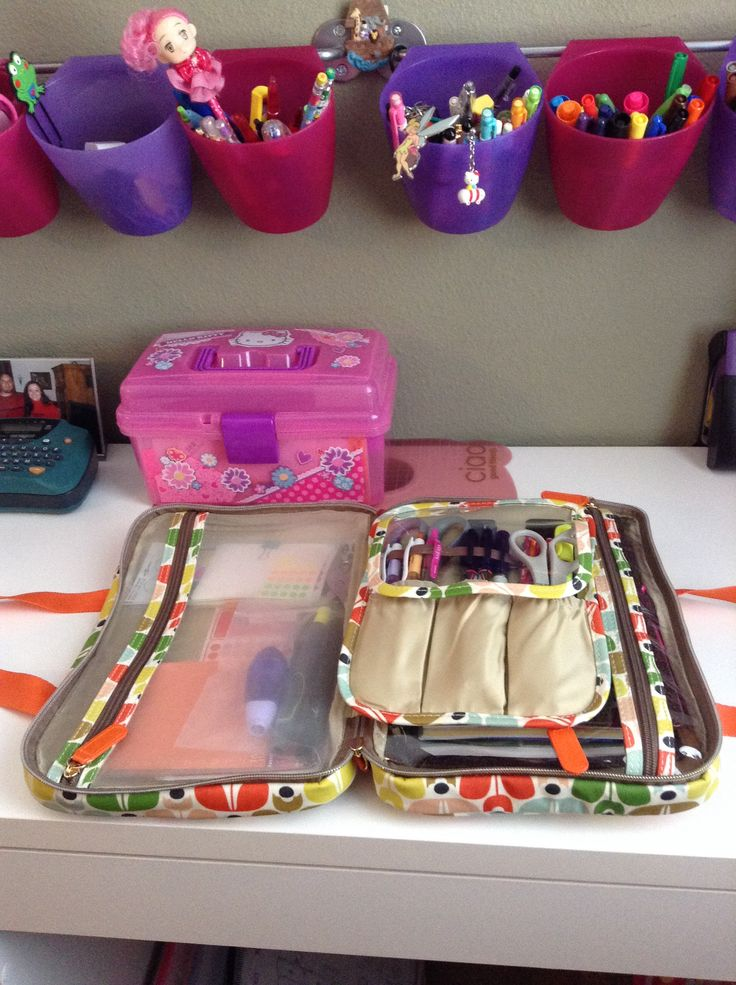 My Filofax and accessories bag. A5 Chameleon in my orla kiely bag from target.