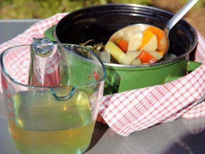 овощной бульон - vegetable broth
