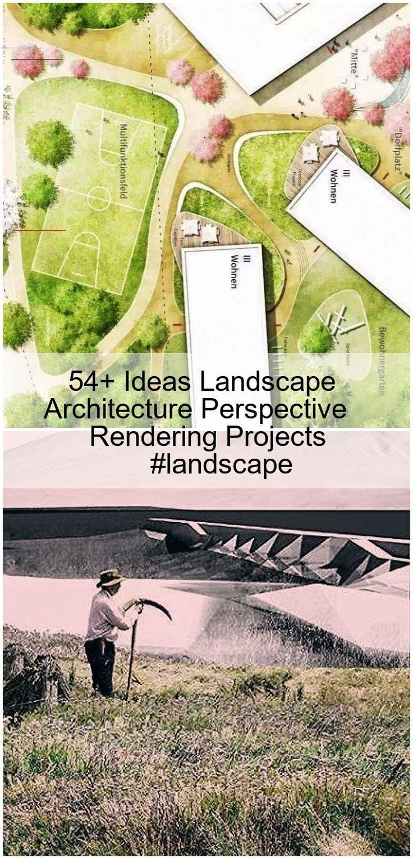 54 Ideas Landscape Architecture Perspective Rendering Projects Landscape 54 Ideas Landscape Architecture Perspective In 2020 Urbanes Design Architektur Bauhausstil