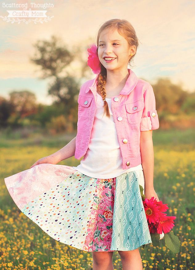 Fat Quarter Circle Skirt Pattern - Let your girl swirl and twirl in a pretty princess skirt that she is absolutely going to love when you create a circle skirt pattern. Learn how to sew a circle skirt in just a few hours when you download this fat quarter sewing project. This free skirt pattern for girls is relatively easy to sew up, and the final product is absolutely adorable. The Fat Quarter Circle Skirt Pattern uses 6 to 11 fat quarters and comes in sizes 3 to 10, making it the perfect…