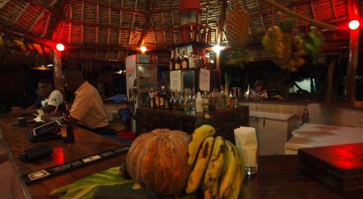 #Bar at Mnarani Beach Cottages #Nungwi