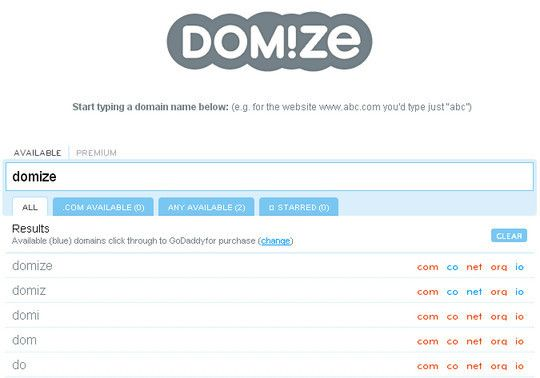 domainname8 15 Tools For Selecting An Ideal Domain Name