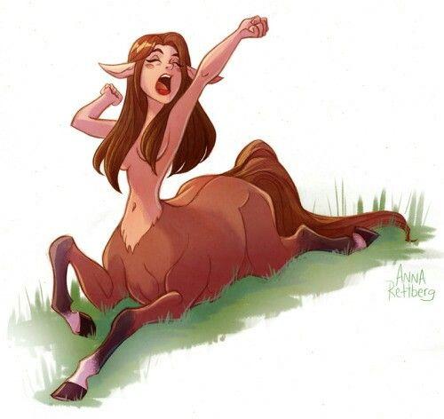Centaur vore
