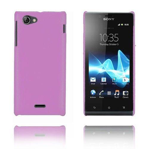 Alpha (Vaaleanvioletti) Sony Xperia J Kotelo