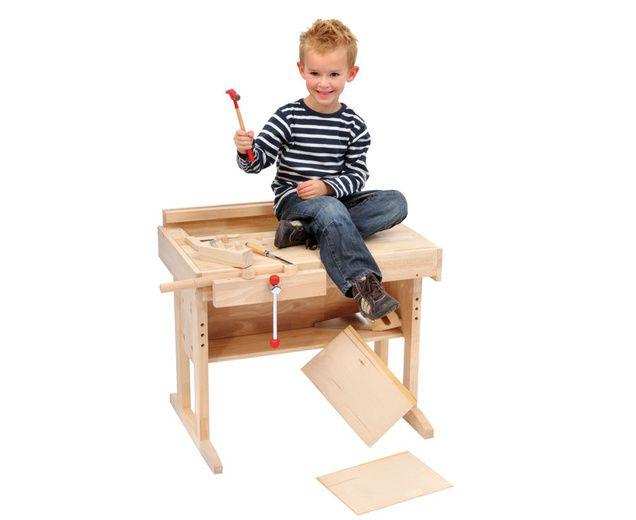 ber ideen zu kinder werkbank auf pinterest werkb nke holzspielzeug und kinder. Black Bedroom Furniture Sets. Home Design Ideas