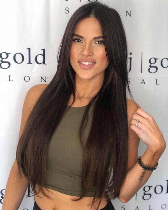 100+ popular 2019 gorgeous black hair wigs#popularblackwigs #longblackwigs #blackhairforwomen
