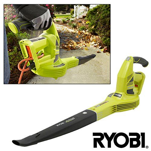 Ryobi ONE+ 18V Cordless Leaf Blower Hybrid Lawn Driveway Sweeper Remanf. ZRP2170 > Ryobi brand, One Plus system, Compatible w/ All Ryobi ONE+ Tools Light green & dark gray plastic w/ rubber grip Air Velocity: 150 MPH / 200CFM, Noise rating (dB): 65 Check more at http://farmgardensuperstore.com/product/ryobi-one-18v-cordless-leaf-blower-hybrid-lawn-driveway-sweeper-remanf-zrp2170/