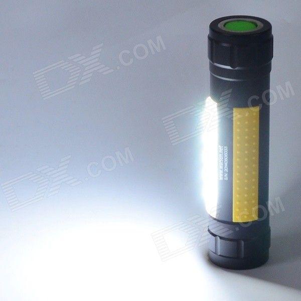 Warsun H006 3-Mode Mini Outdoor White LED Flashlight w/ Magnet Ring