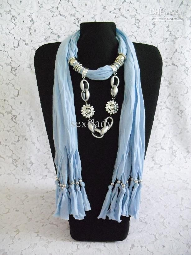 120 best scarf jewelry images on pinterest fabric necklace wholesale dhl free 2012 new soft charm pendant scarves jewelry scarves fashion jewelry scarf mix aloadofball Choice Image