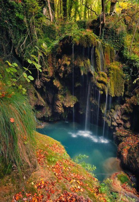 Turquoise Pool, Navarra, Spain  Nacedero Rio Urederra