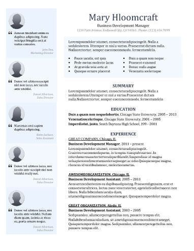 Sample Resume For Business Development Manager 33 Best Teach  Professional Docs Images On Pinterest  Elementary .