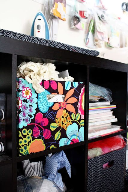 Ikea Expedit Fabric Covered Boxes - Rae Gun Ramblings