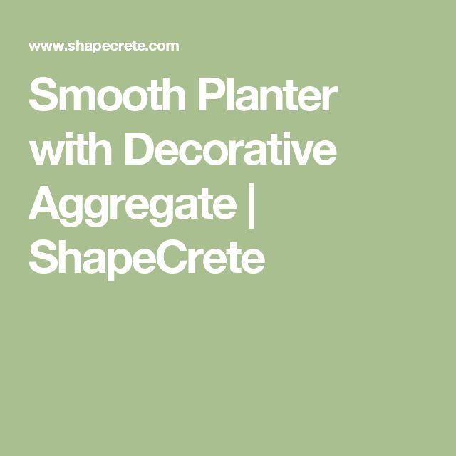 25 Best Ideas About Decorative Aggregates On Pinterest