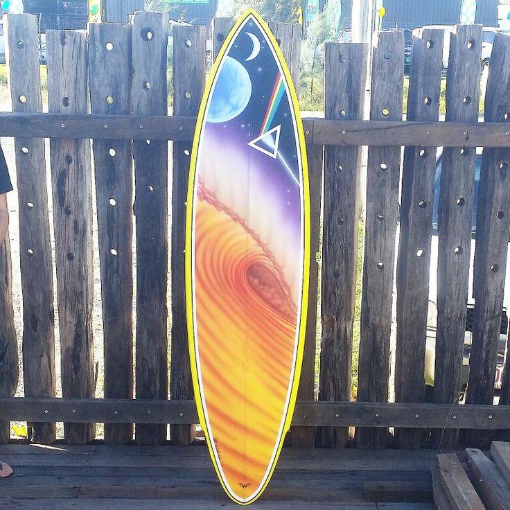 70's surfart airbrush by willy nicholls 2016.foamspray.mt woodgee surfboards.