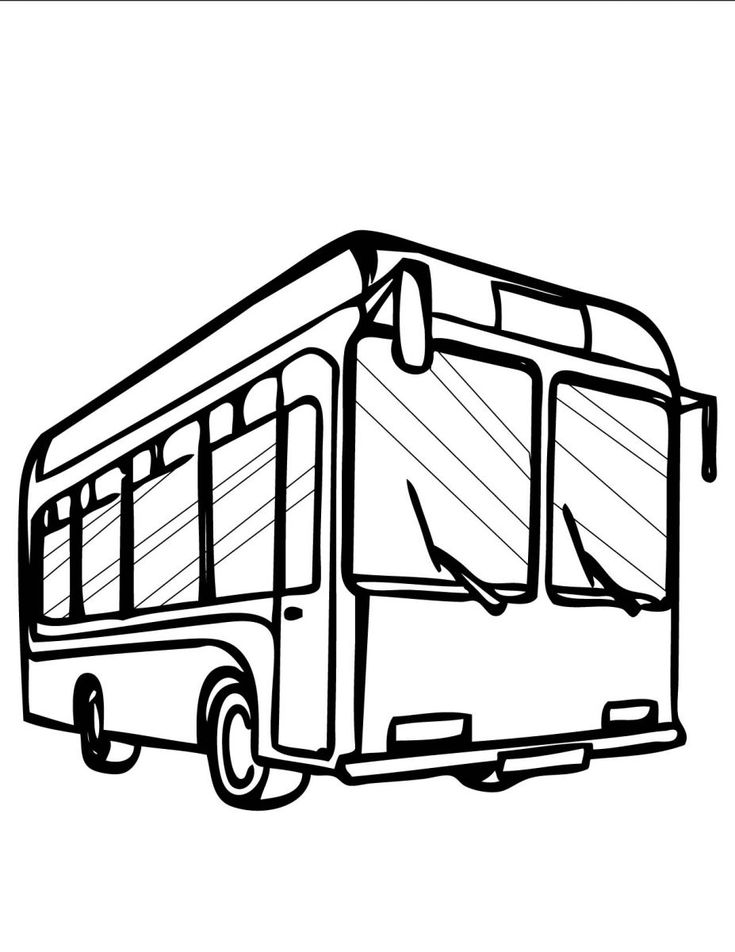 13 best Bus Coloring Pages images on Pinterest Buses Coloring