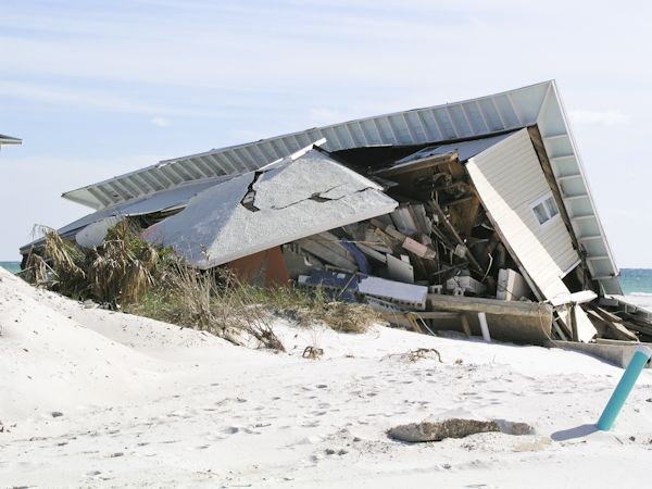 In 2004 Ivan hit Pensacacola beach - some photos after & 8 years later  http://extremestorms.com/hurricane-ivan