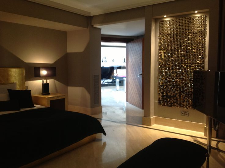 Gold sequin Panel Wall decoration