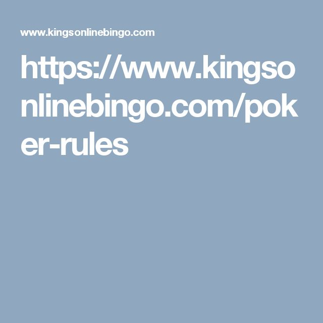 As a learner in poker game, you know Poker Rules for Beginners in Germany, Sweden, UK, Norway, Spain by the most authentic website Kings Online Bingo.
