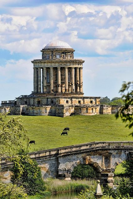 Castle Howard Mausoleum, Yorkshire, UK #travel #awesome places +++For more     background images, visit http://www.hot-    lyts.com/